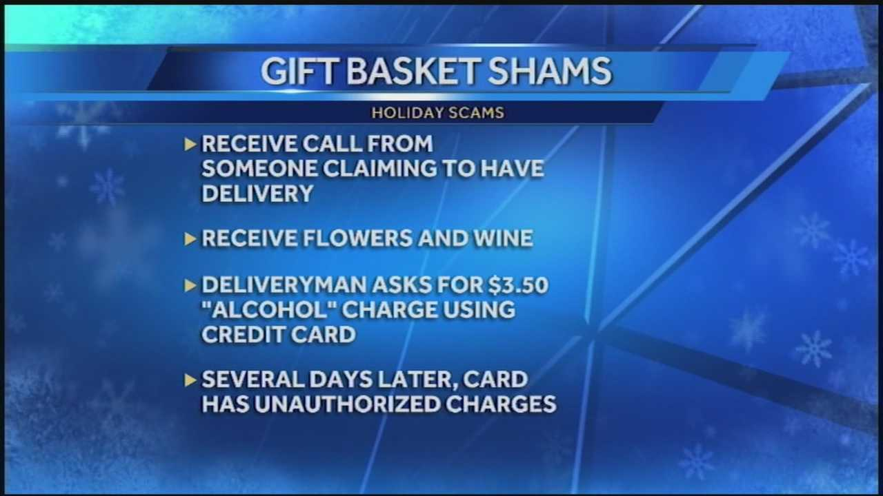 Louisville's Better Business Bureau has a warning concerning several holiday scams.
