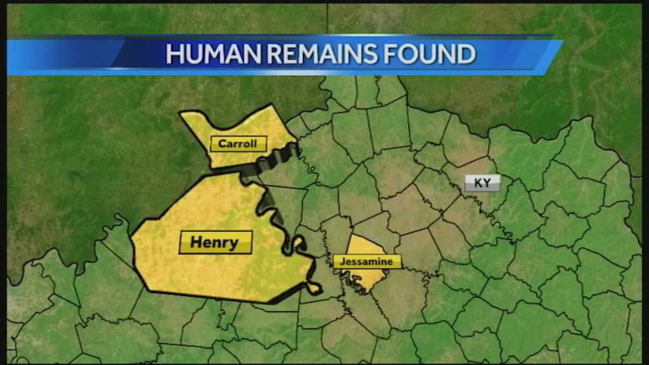 For the third time in three months, human remains have washed ashore in a remote area of Kentucky.