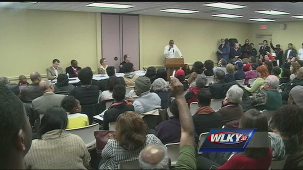 A forum to talk police tactics, race and distrust of the justice system attracted more than 100 people Tuesday night.
