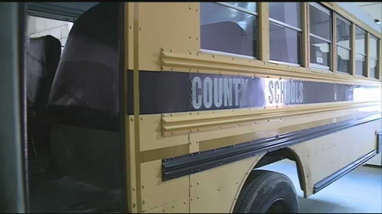 JCPS bus has windows broken while transporting student athletes after their high school basketball games.