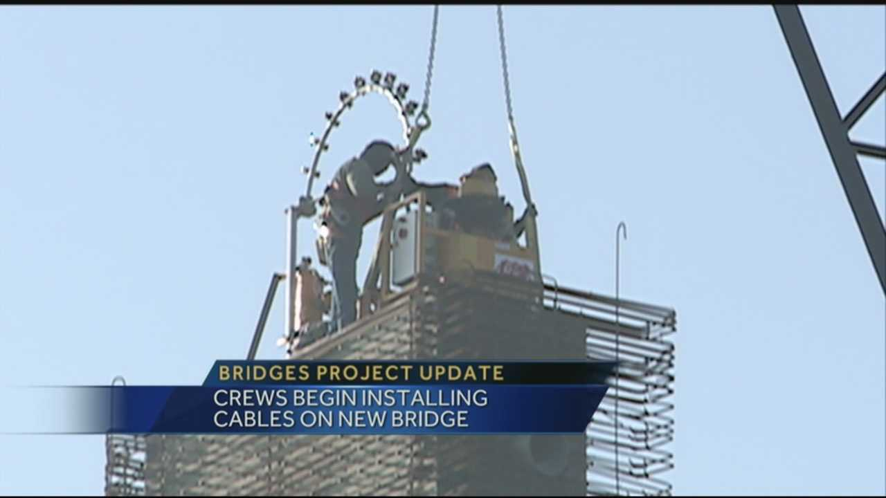 This week marks another milestone for the Ohio River Bridges project's downtown crossing.