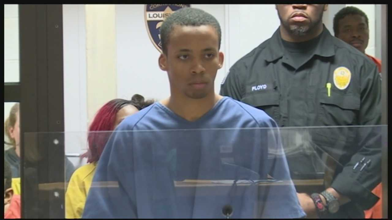 A man accused of stabbing his ex-girlfriend to death made his first court appearance Monday morning.