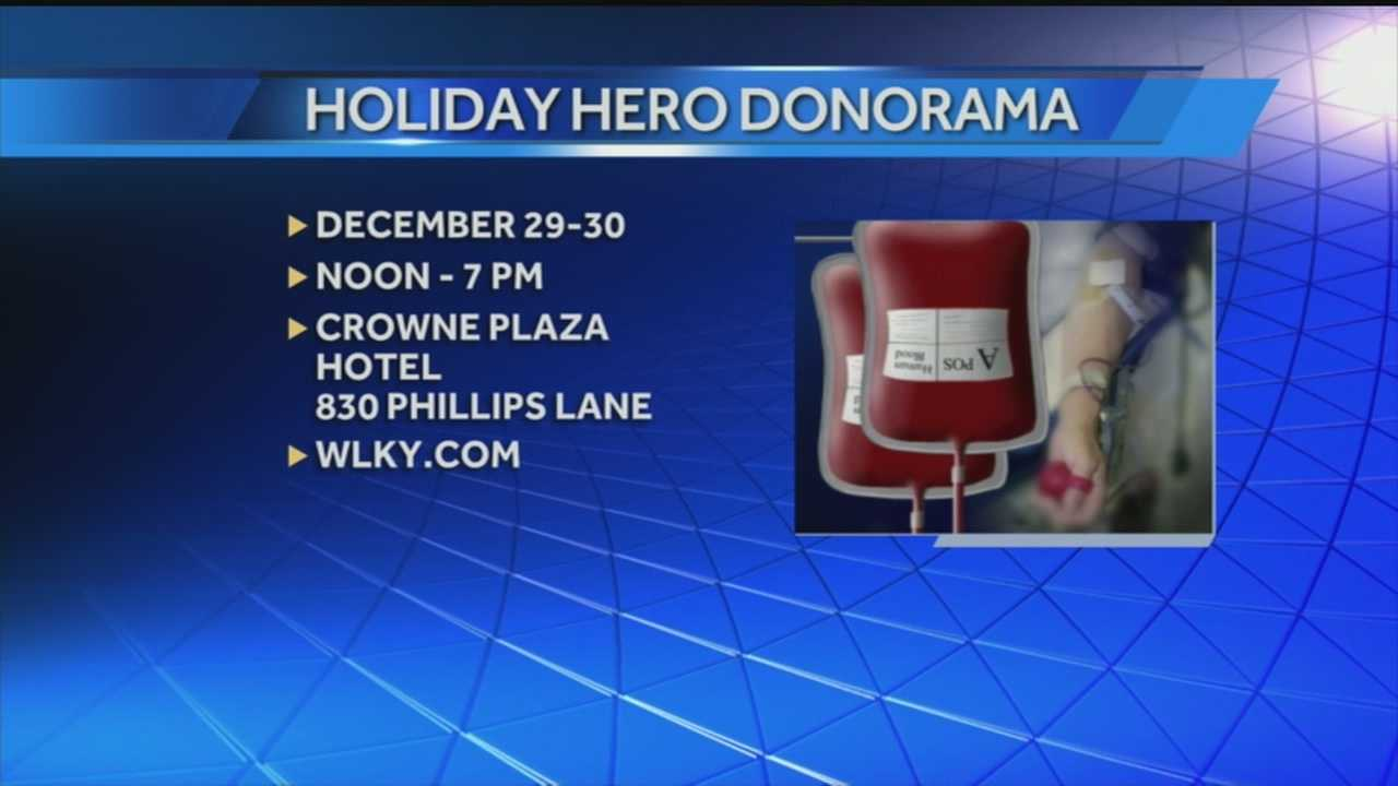 Give the gift of blood this holiday season at Donorama