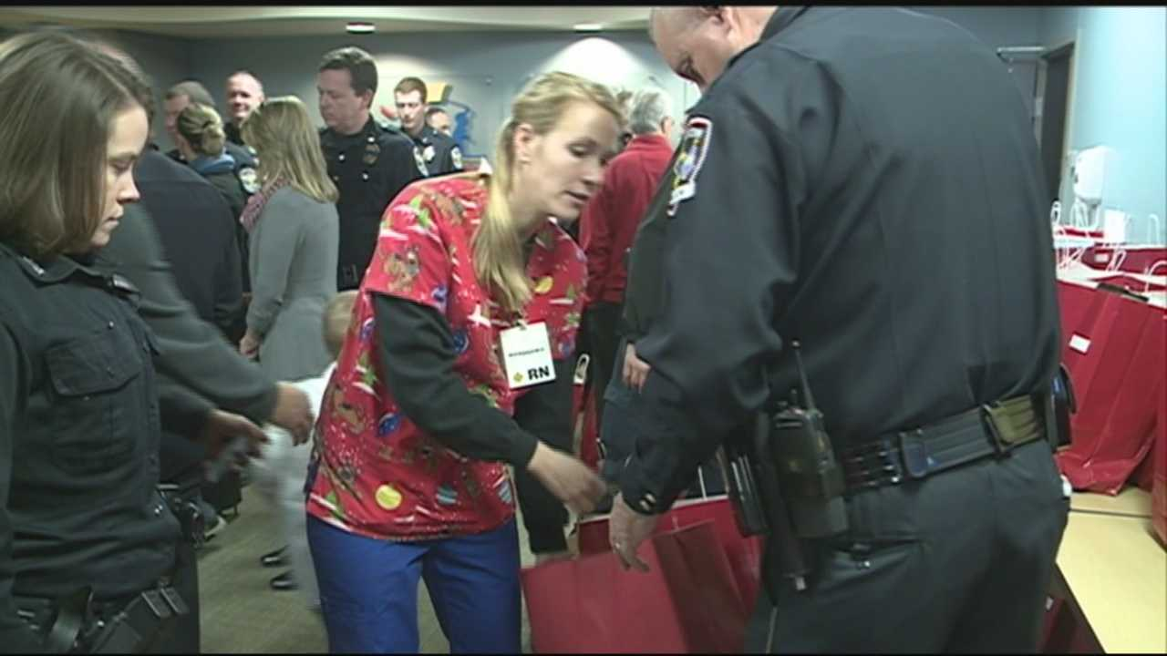 Christmas came a few days early for kids at Kosair Children's Hospital in downtown.