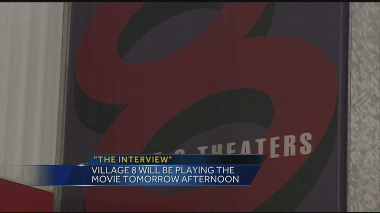 'The Interview' is coming to the big screen in Louisville.
