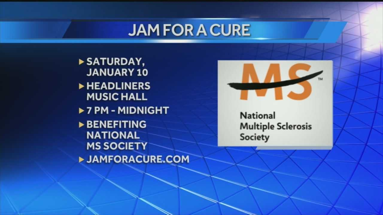 Jam for a cure brings awareness to Multiple Sclerosis