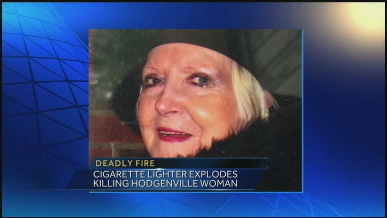 Daughter remembers mother killed in fire, following lighter explosion
