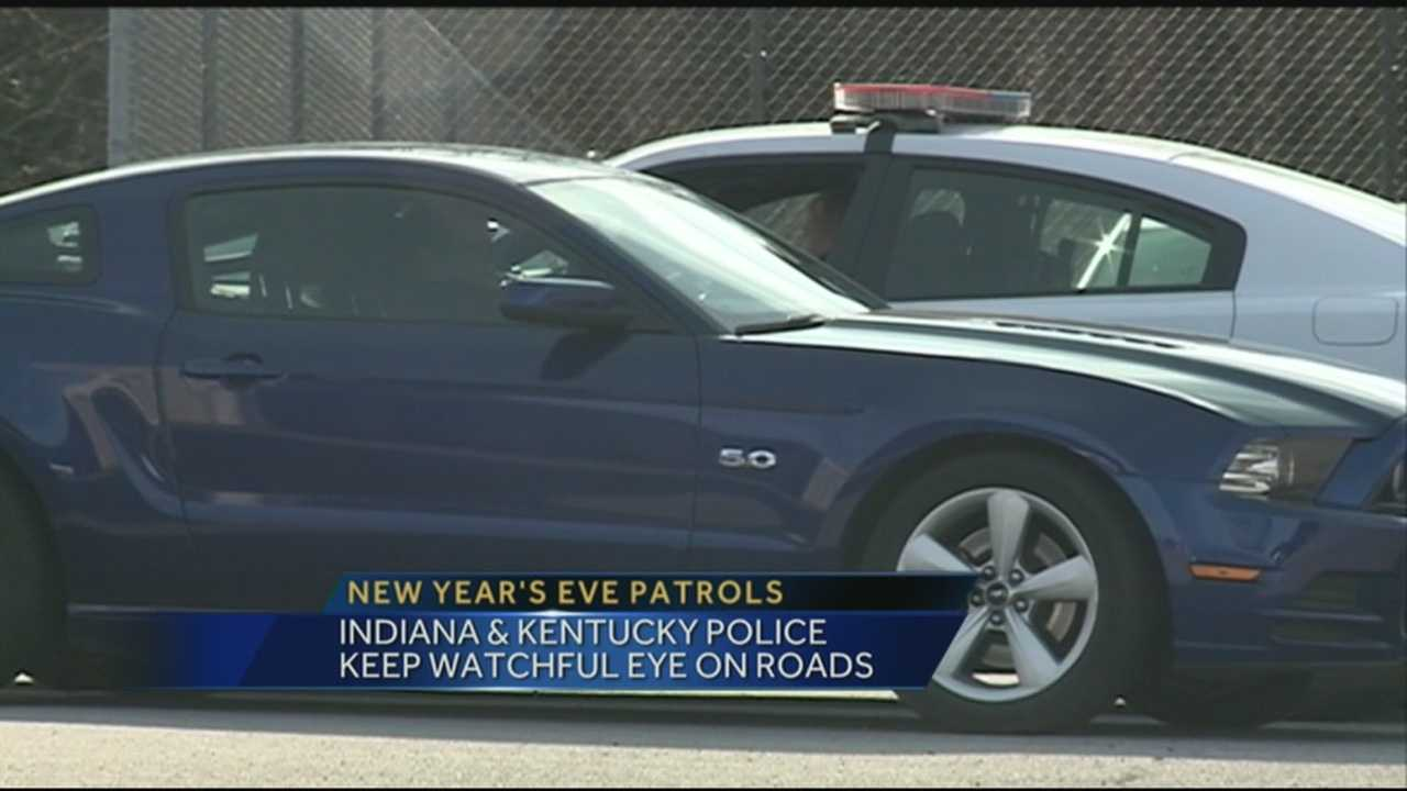 Plenty of people will be out and about Wednesday night to ring in the new year, including Kentucky State Police.
