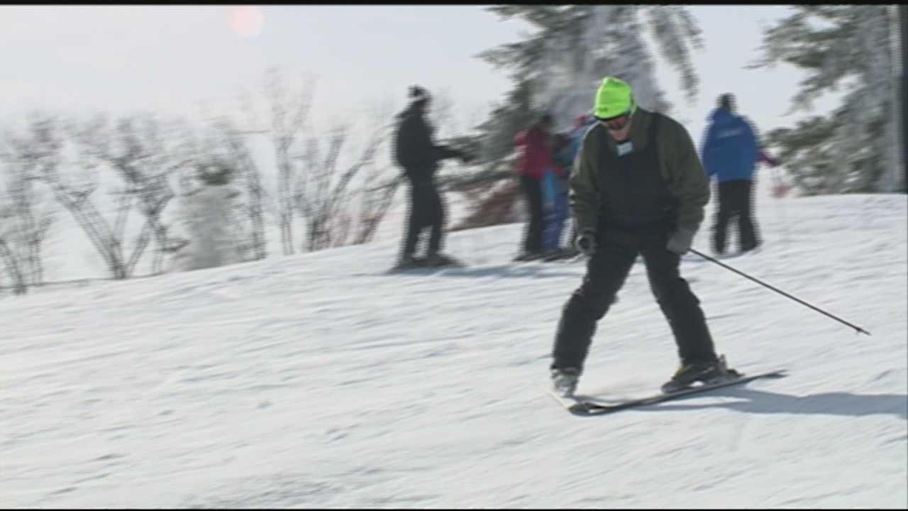 New Year's Day was a snow day in Paoli, at least at Paoli Peaks.