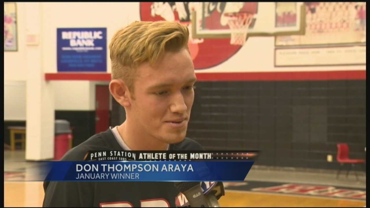 January Athlete of the Month