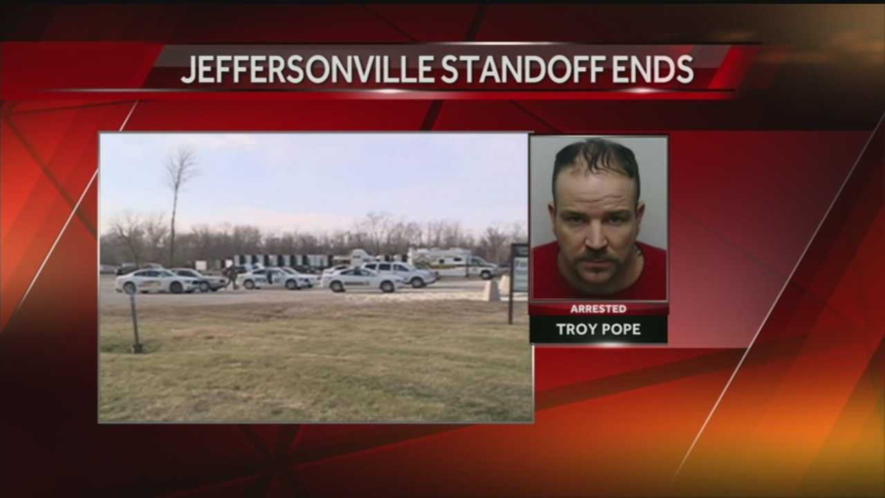 Police arrest man involved in Clark County standoff