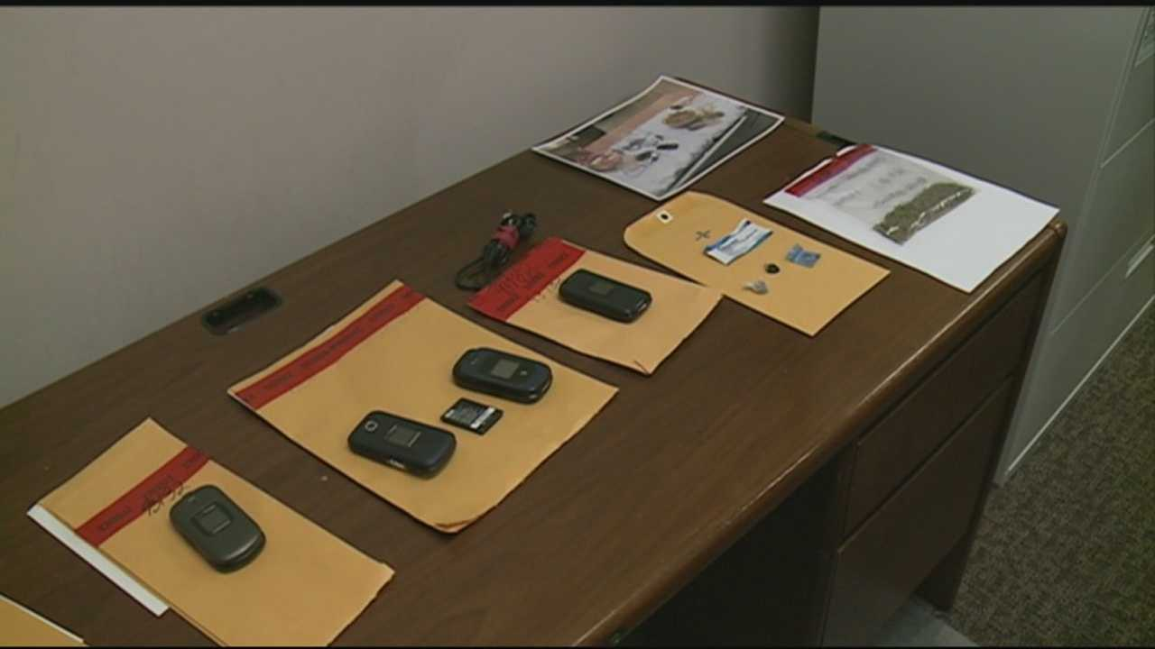 Clark County jail cracks down on contraband