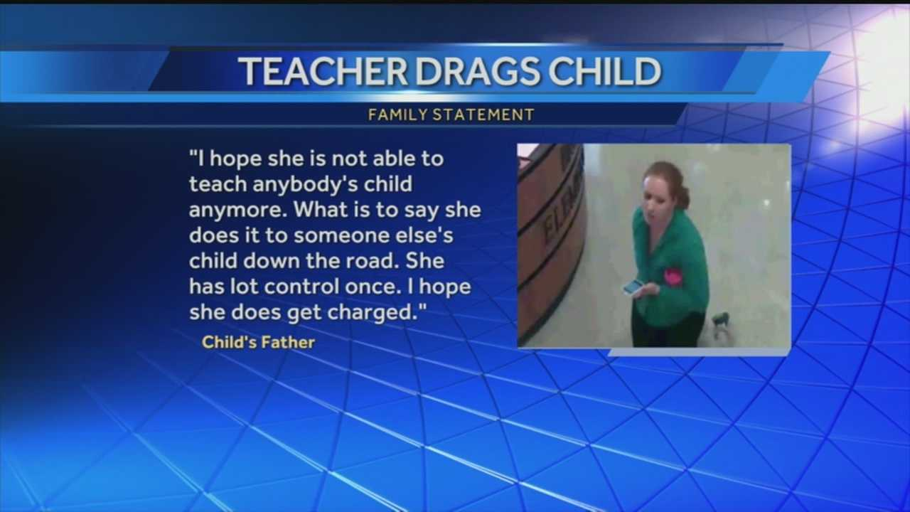 A Bullitt County teacher is fired, and then reinstated after she drags a child by the wrist, through the halls of a school.