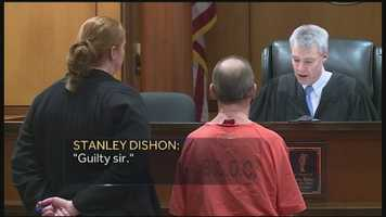Stanley Dishon pleaded guilty in murder case of his niece