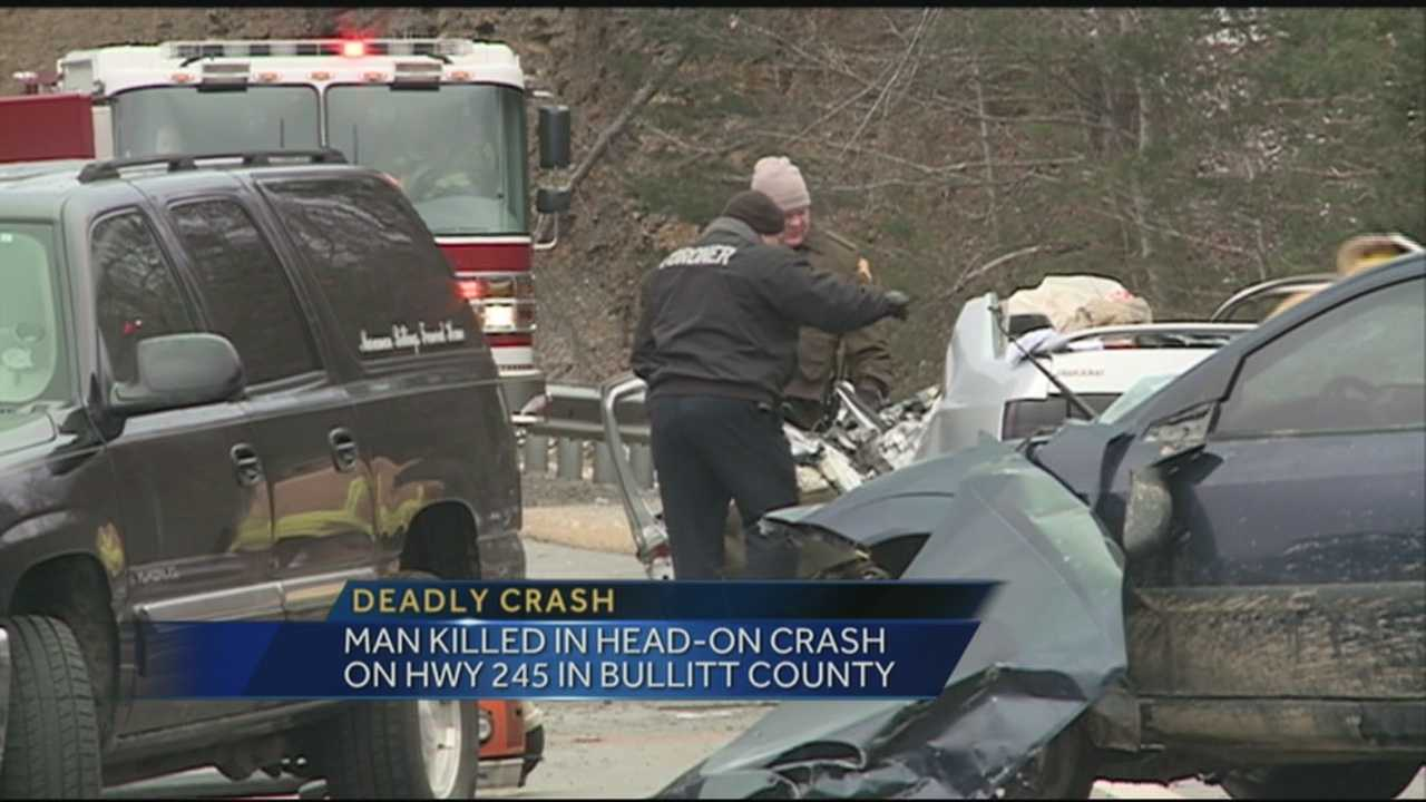 One person was killed and another suffered life-threatening injuries in a crash on KY 245 at the Bullitt-Nelson county line on Monday morning.