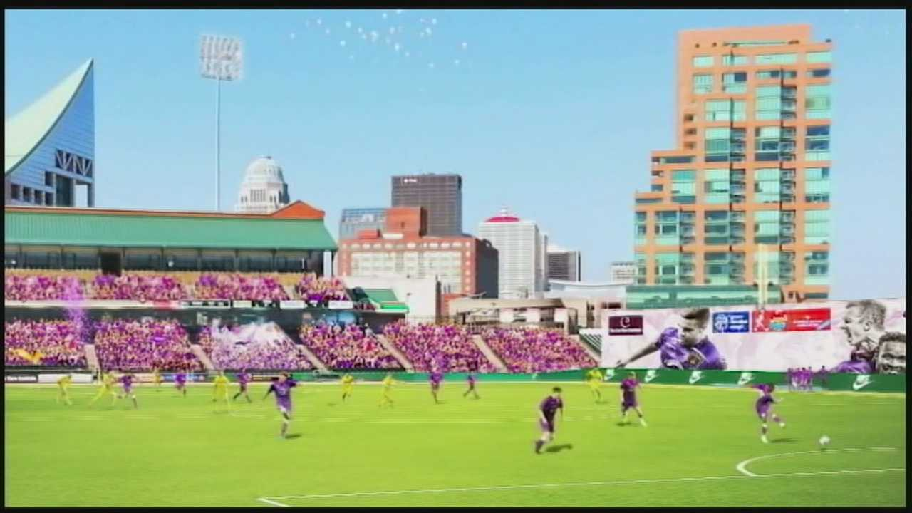 Preparations are underway at Slugger Field to welcome a new pro soccer team to town.