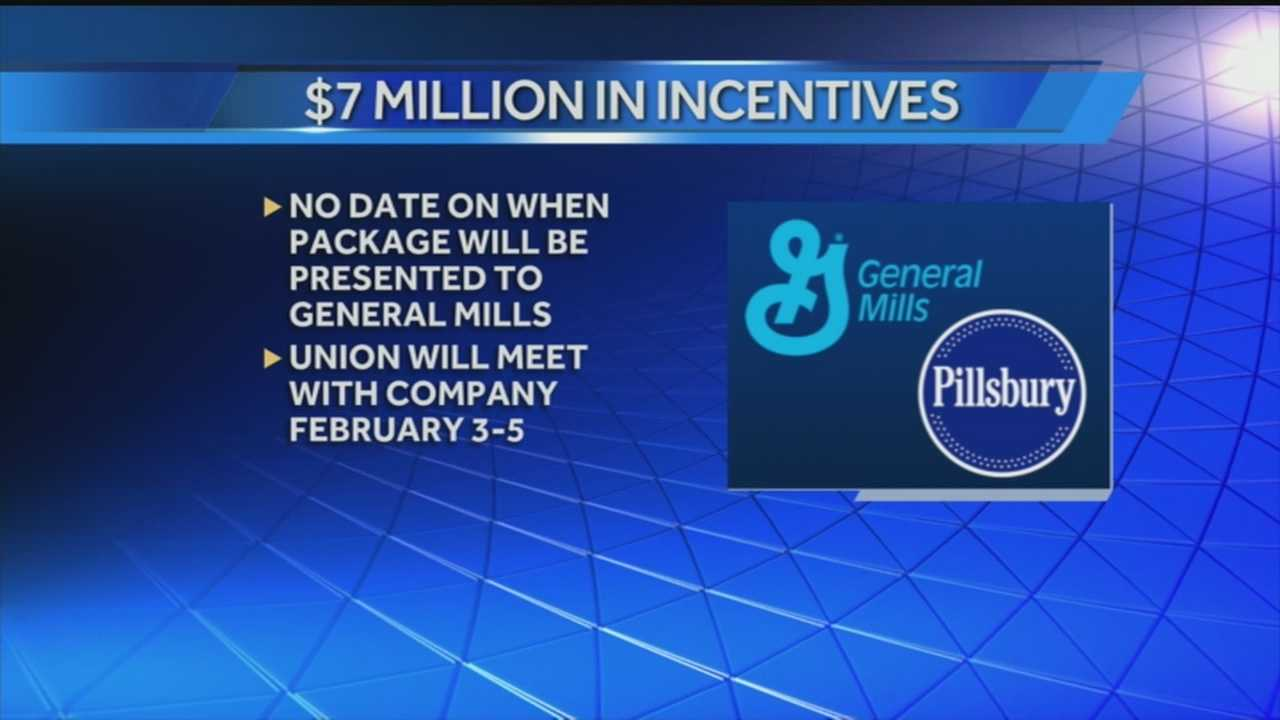 Less than three weeks after a major employer announced plans to close its doors, the city of New Albany will do all it can to save the 450 jobs at the General Mills Pillsbury Plant.