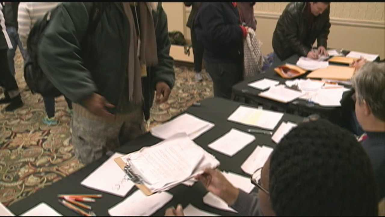Volunteers helped with census of Louisville's homeless population