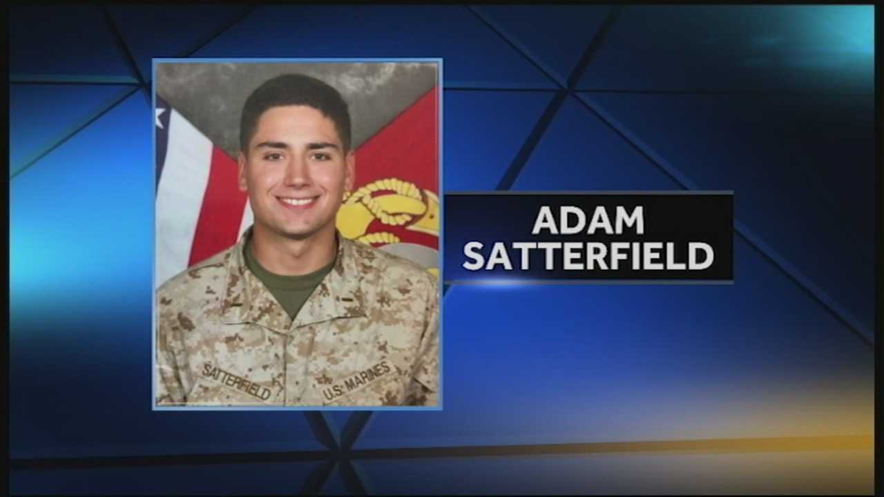 Marine killed in helicopter crash will be laid to rest Sunday