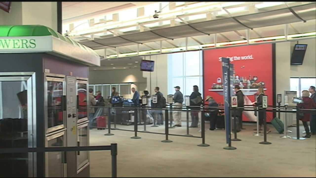 The weekend snow storm that slammed the Midwest  had a ripple effect for travelers in Louisville.
