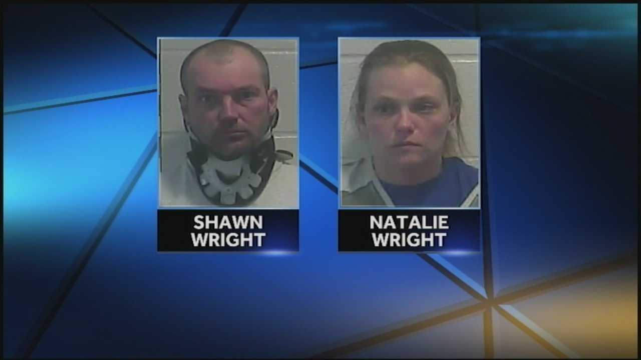 Drugs and weapons are what Spencer County deputies said they discovered inside a Mount Eden couple's home.