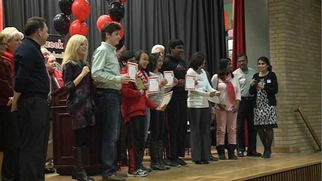 Meyzeek students receive award for innovative app