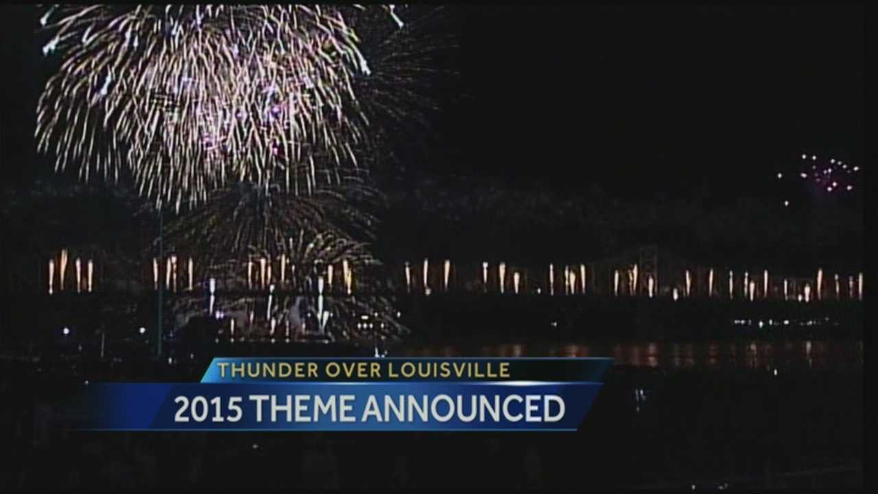 A big announcement is underway about this year's Thunder Over Louisville.