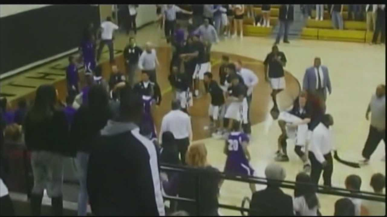 Charges could be filed in high school basketball brawl