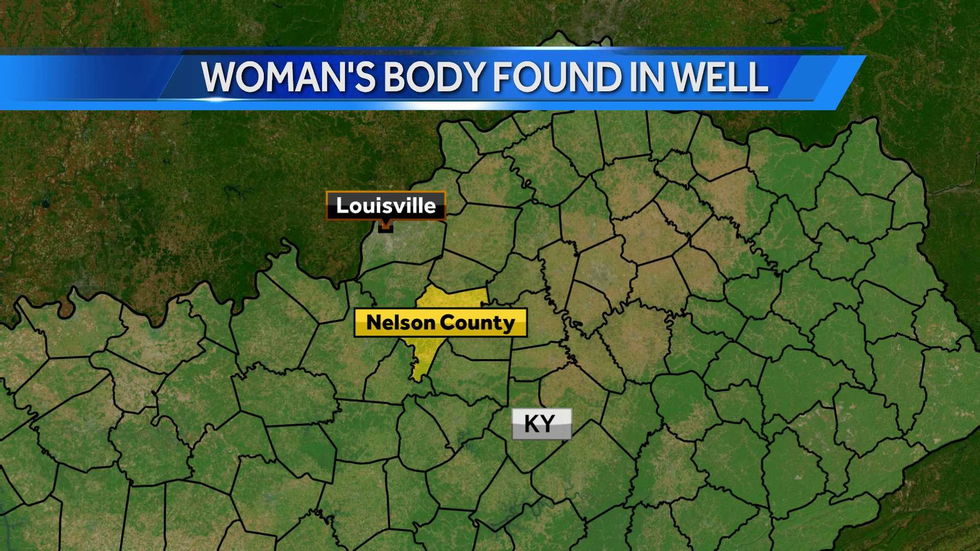 Woman's body recovered from well in Nelson County