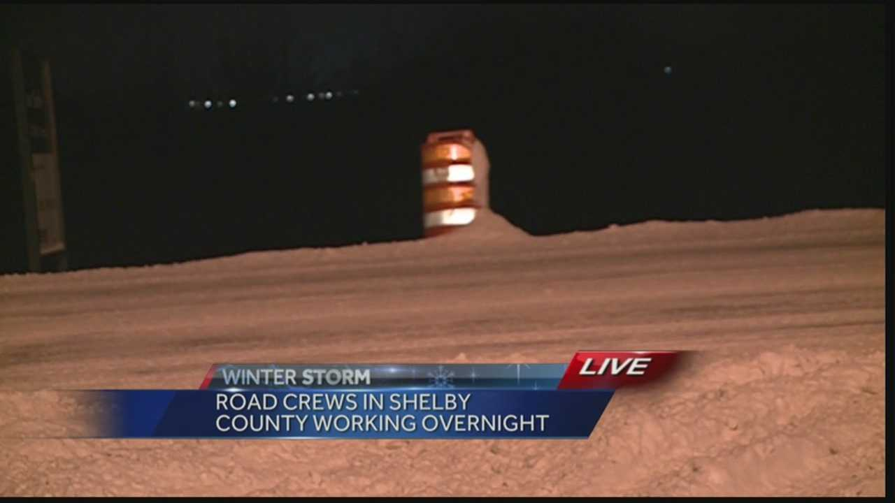 Shelby County prepares to get back to business after heavy snowfall