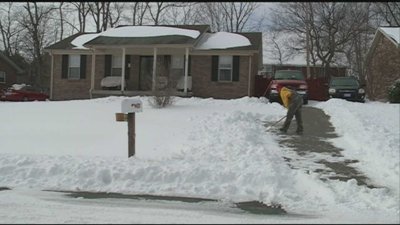 Among the hardest hit areas is Nelson County, where some residents are reporting up to a foot of snow.