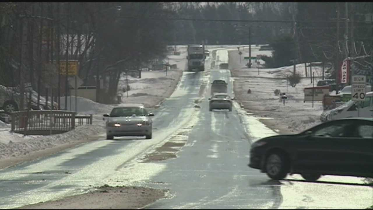 In Floyd County, travel restrictions are lifted, but drivers are asked to use caution.