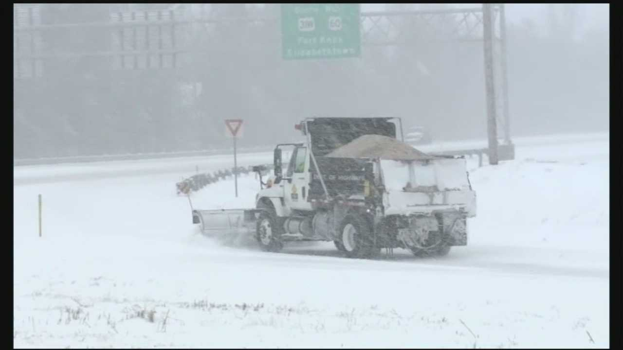 Louisville's snow team is now on its fifth pass through the metro treating and plowing the roads.