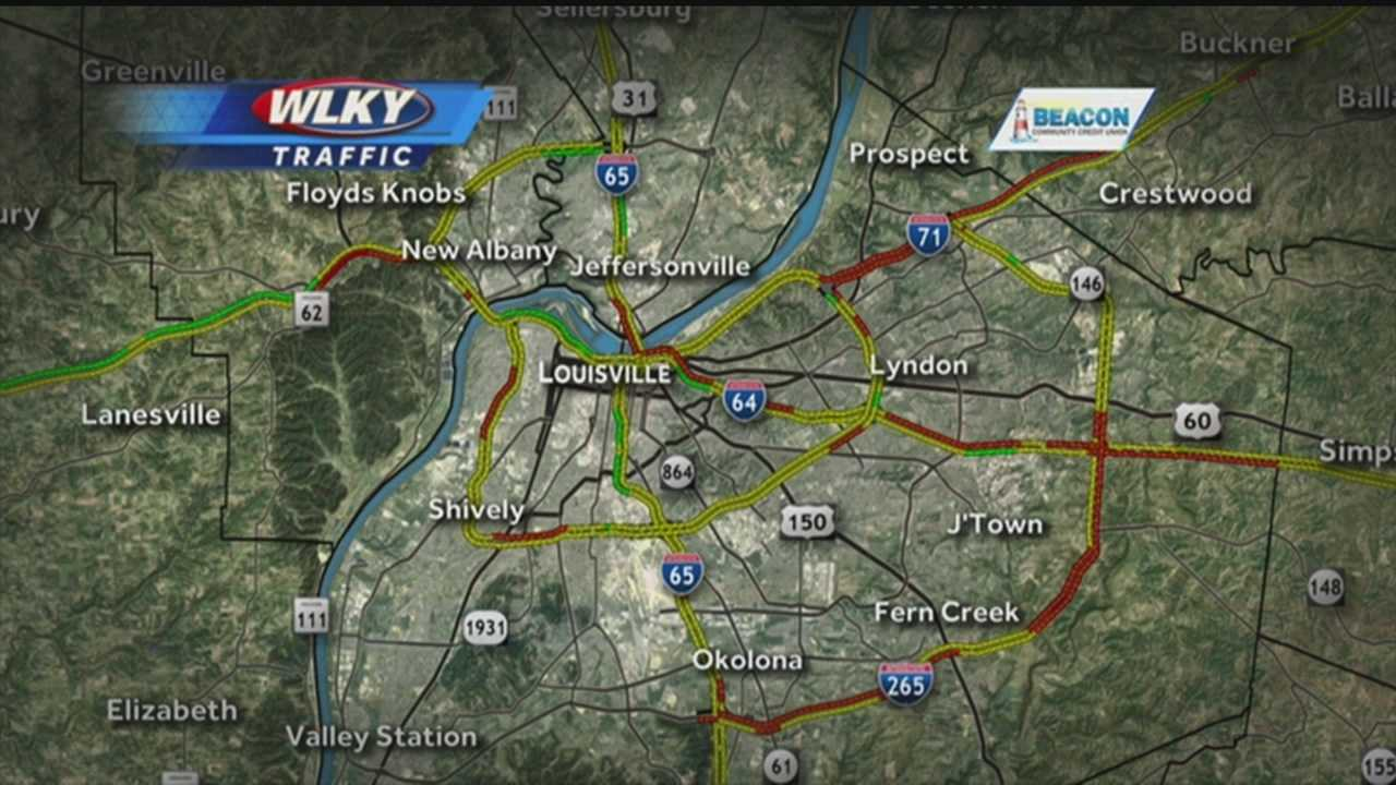Multiple accidents are being reported across the WLKY viewing area.