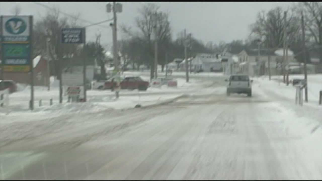 In Breckinridge County, schools will be out for the rest of the week while the community digs out from this week's snow.