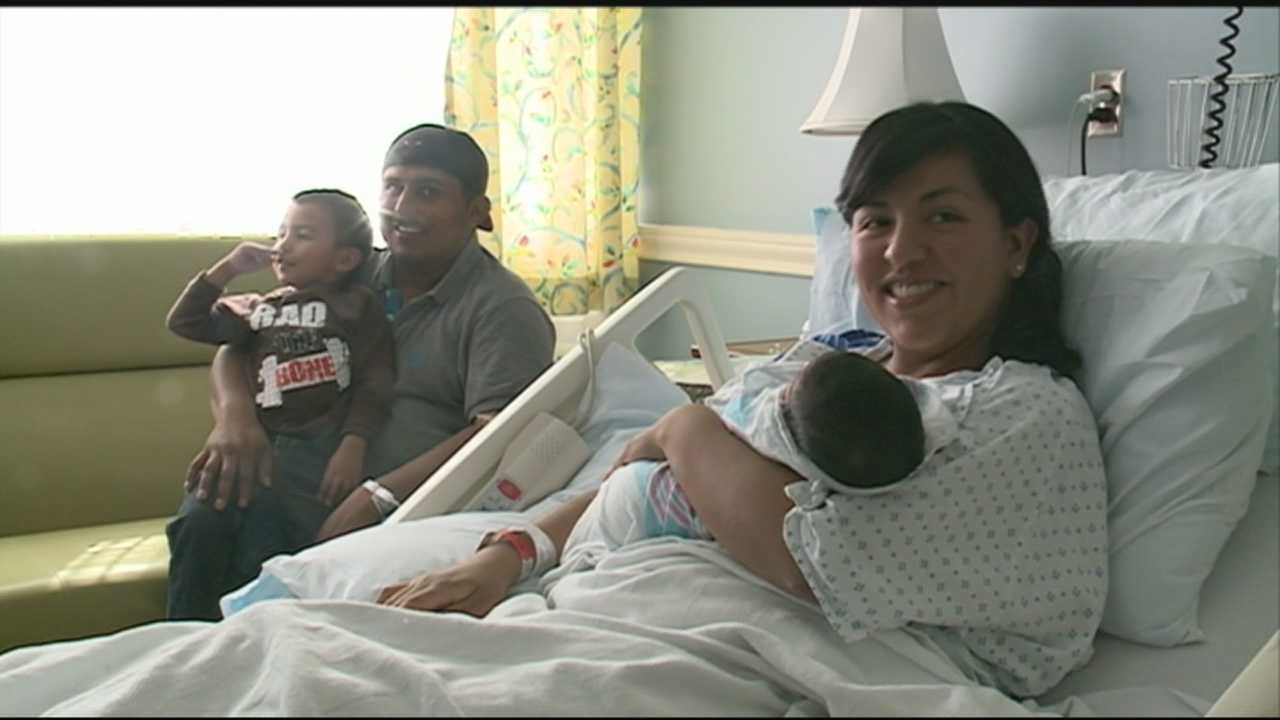 Family shares story after baby is born on the side of local interstate