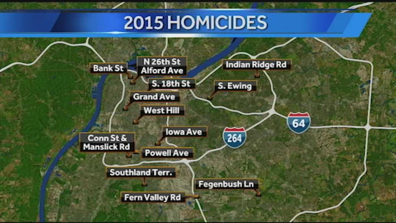 2015 has seen a high number of homicides.