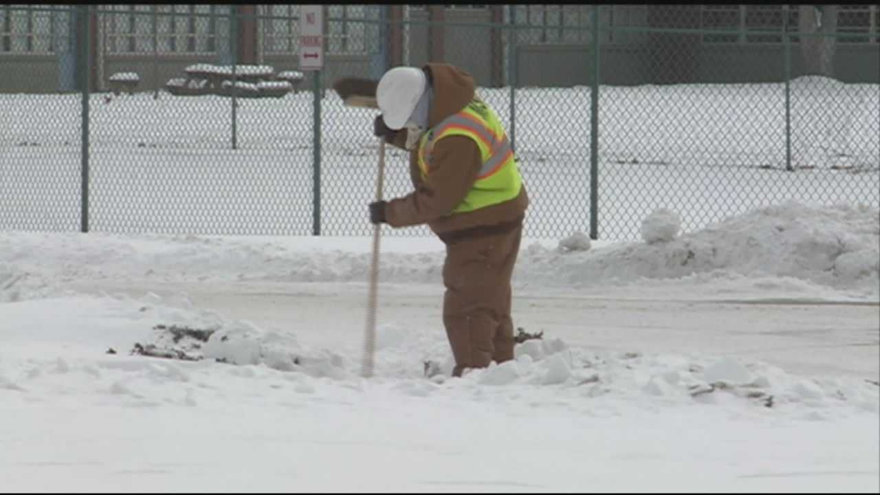 City officials plan ahead for potential ponding when snow melts
