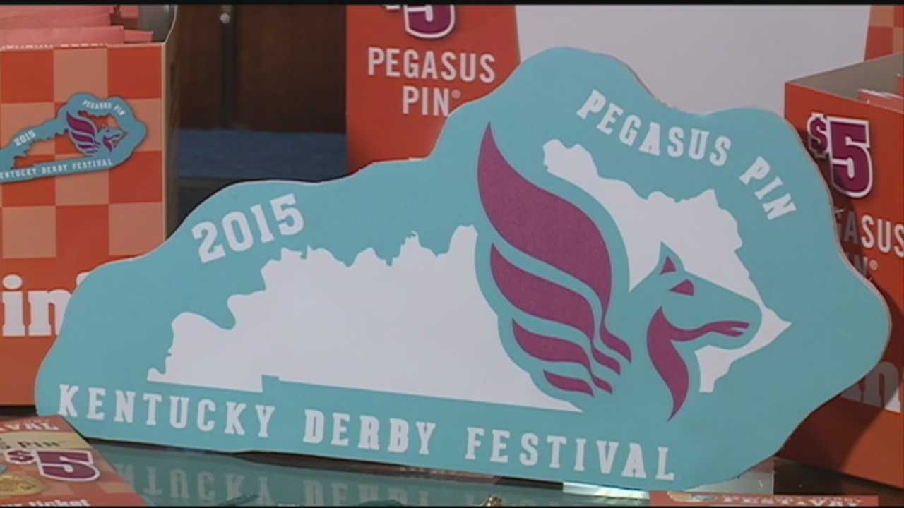 The Kentucky Derby Festival unveils the 2015 Pegasus pins