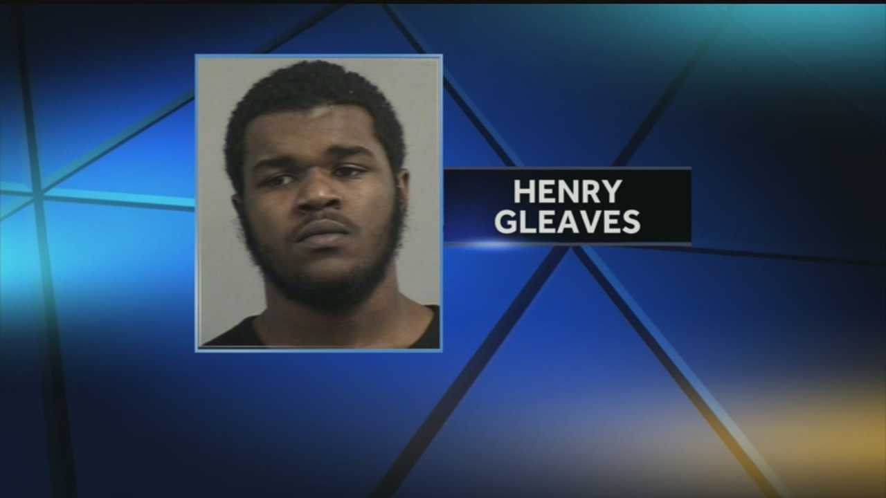 Henry Gleaves is accused of fatally shooting a man in the parking lot of a Fern Valley hotel.