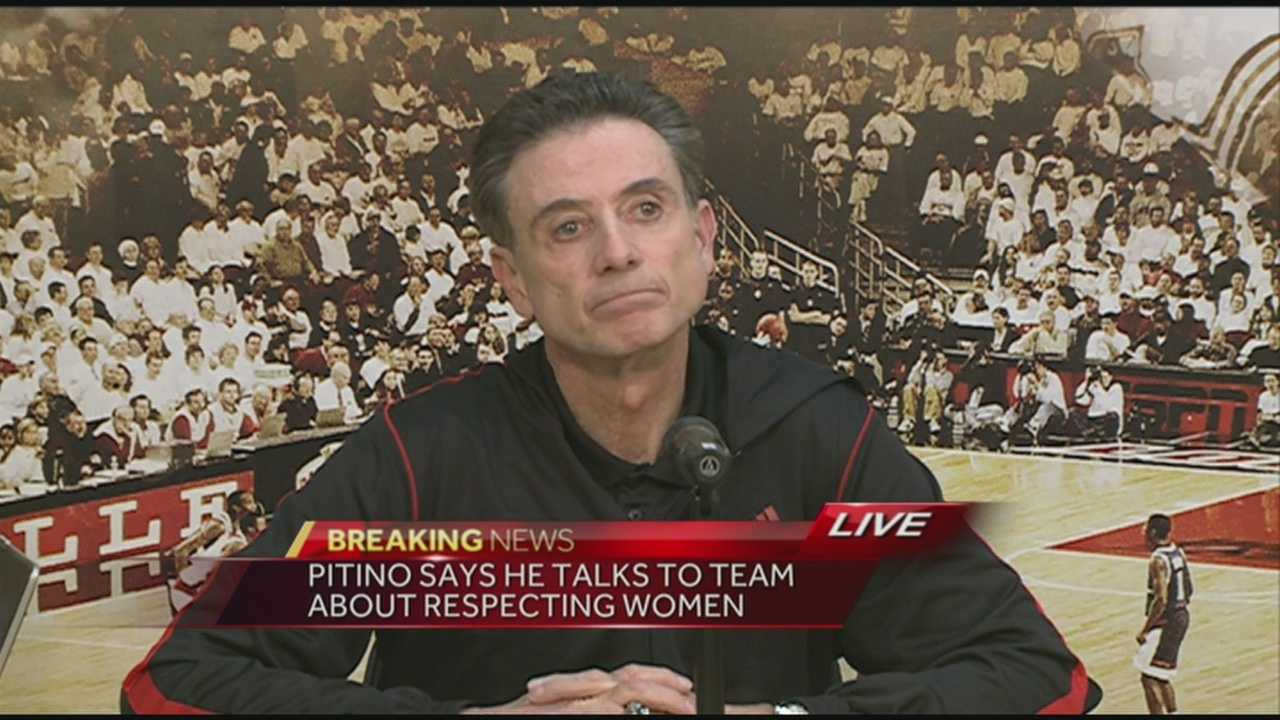 Rick Pitino spoke on Chris Jones dismissal