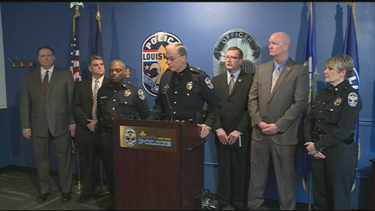 LMPD announces plan to deal with recent spike in homicides
