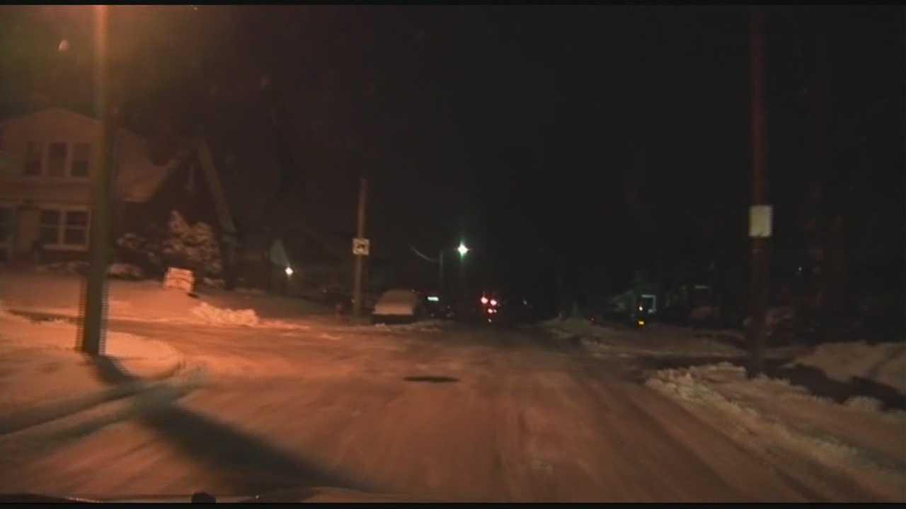 Road crews prepare for freezing roadways as temperatures drop overnight