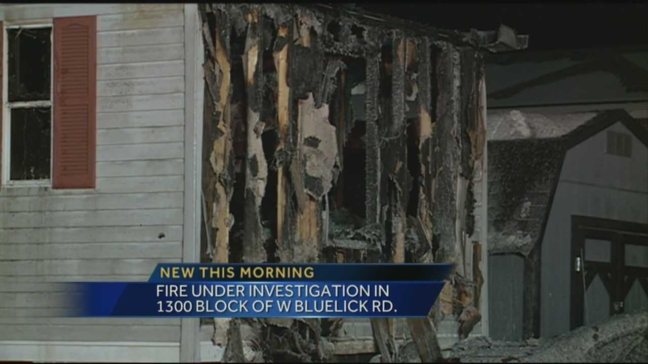 Late night fire damages home, kills family pet