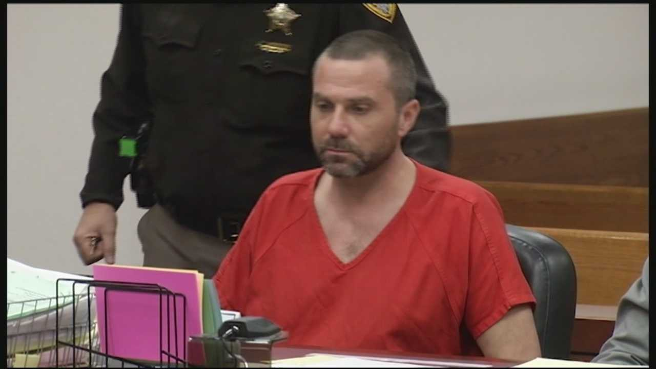 The man accused in what police suspect was a deadly case of road rage appeared in court Monday.