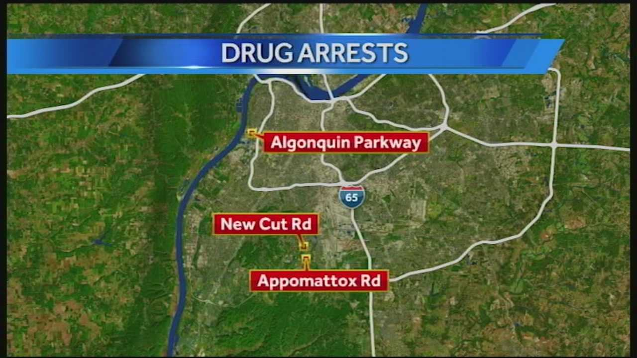 An anonymous complaint led police to a large marijuana growing operation in Louisville, and that's not all police found.