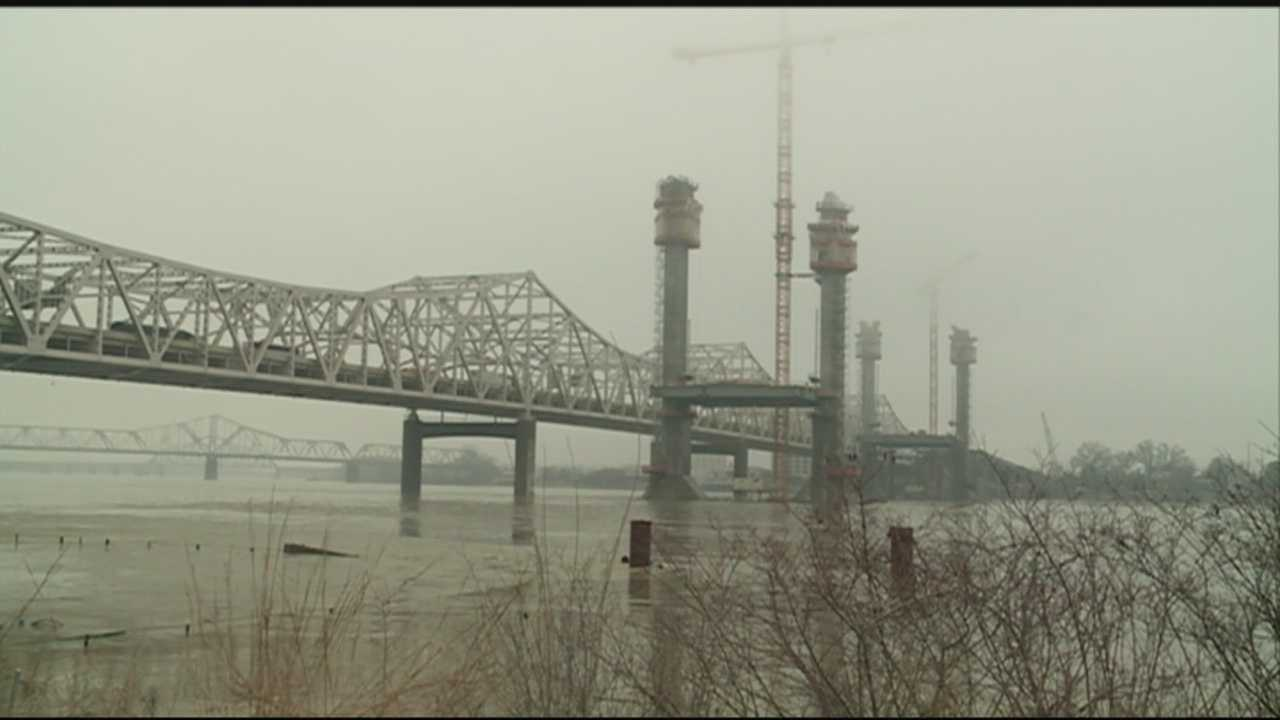 Drivers should get ready for traffic changes and a changing view of the Ohio River.