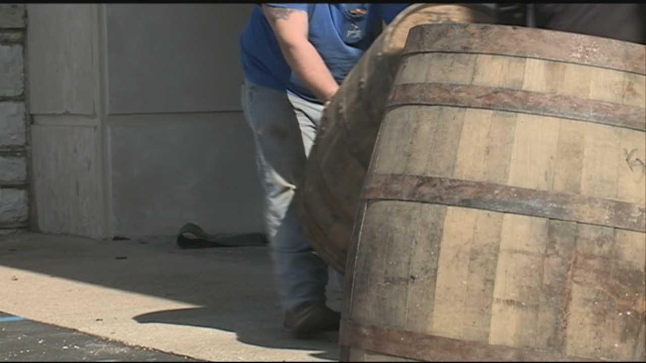 Tips lead to 5 barrels of stolen Wild Turkey bourbon