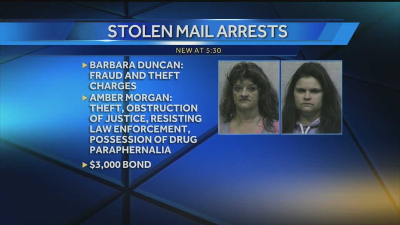 Mother, daughter arrested in connection with Indiana mail theft
