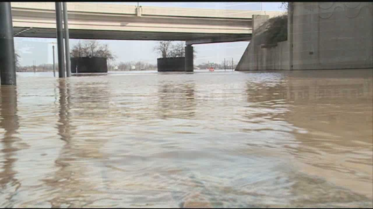 Downtown flooding raises concerns days ahead of NCAA Tournament